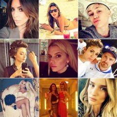 celebrities on instgram