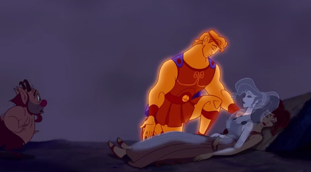 closing scene from hercules