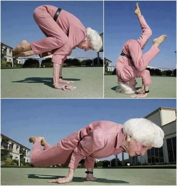 yogi pose old people
