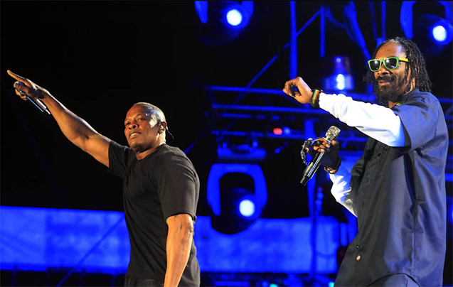 Dr Dre and snoop Dog