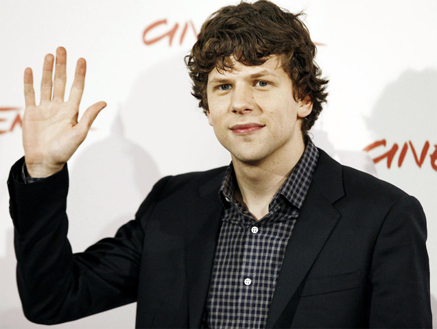 Jesse Eisenberg measurements