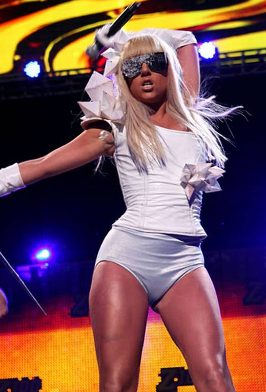 Lady Gaga measurements