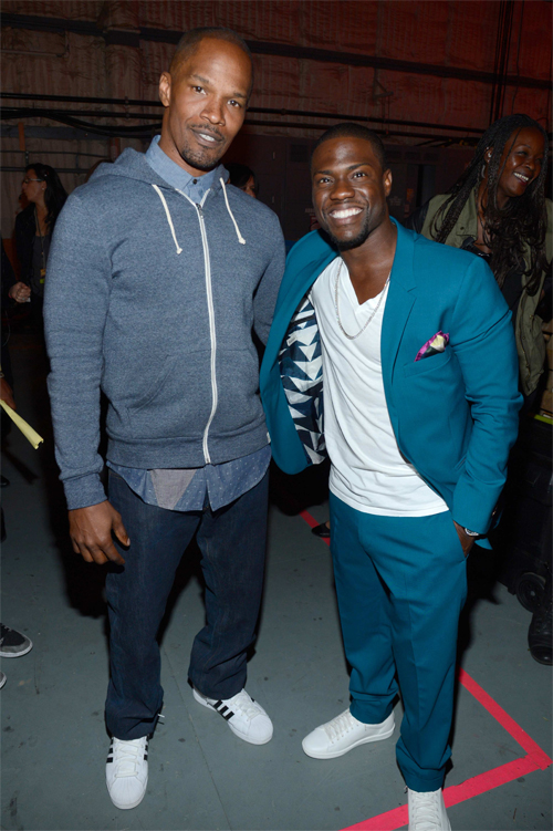 Kevin Hart and Jamie Foxx