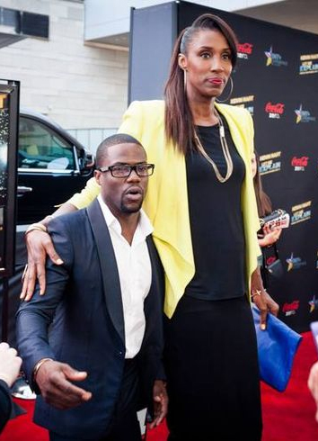 Kevin Hart and Lisa Leslie