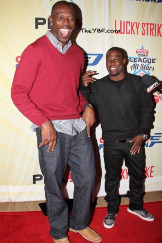 Kevin Hart and Terrell Owens