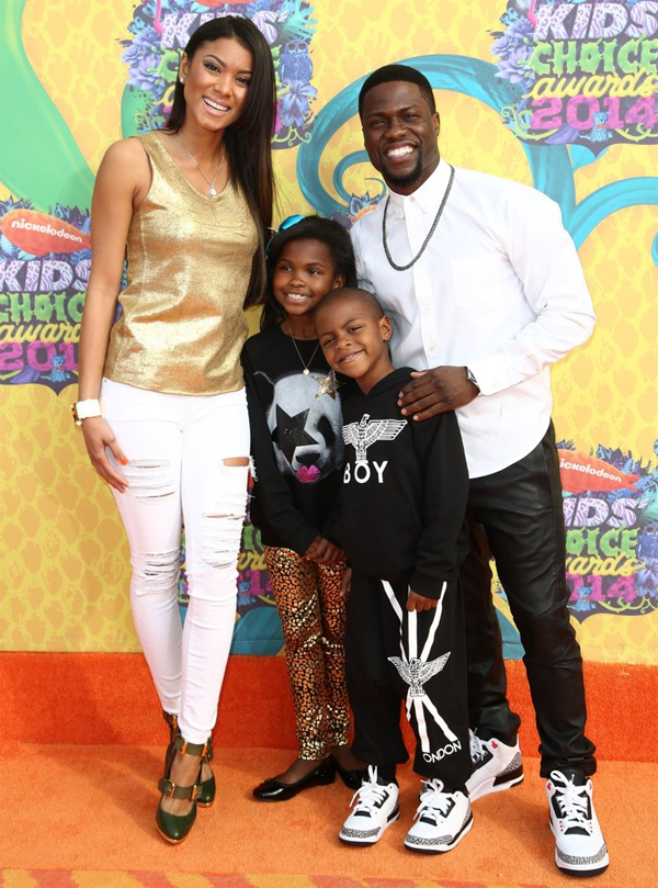 kevin hart kids and girlfriend