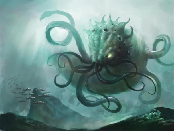 8. The Mythical Kraken