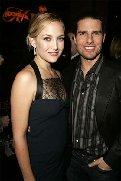 Tom Cruise and Kate Hudson