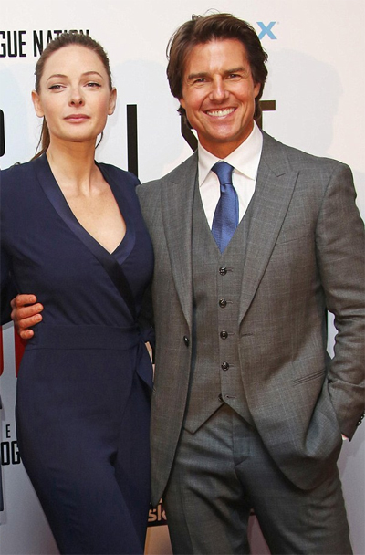 tom cruise and Rebecca Ferguson