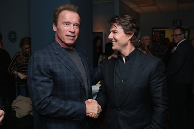 tom cruise and arnold schwarzenegger