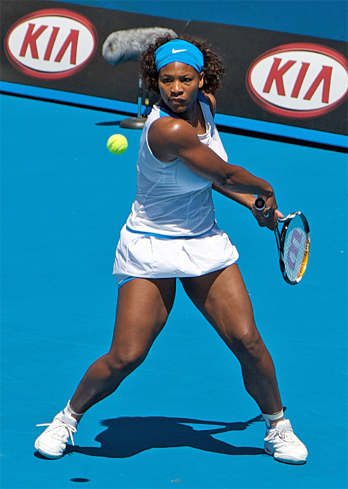 serena williams height weight body measurements celebrity stats. Black Bedroom Furniture Sets. Home Design Ideas