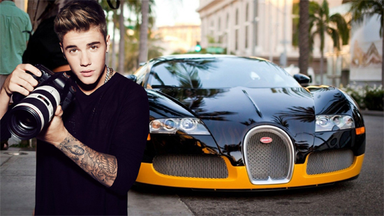 Justin Bieber net worth car