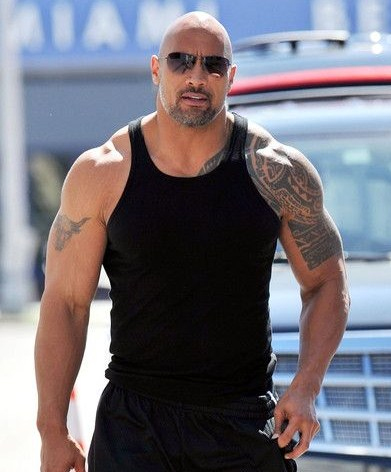 dwayne johnson height