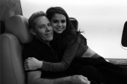 Selena Gomez and her father
