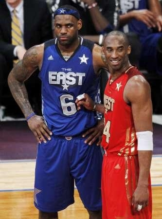 Lebron and kobe bryant