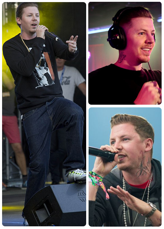 Professor Green height