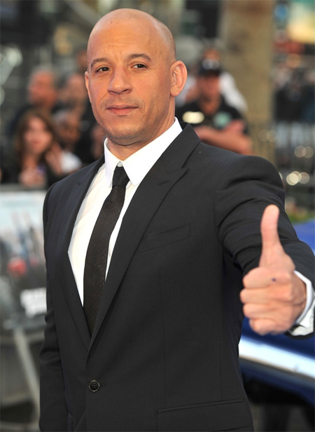 Vin Diesel measurements