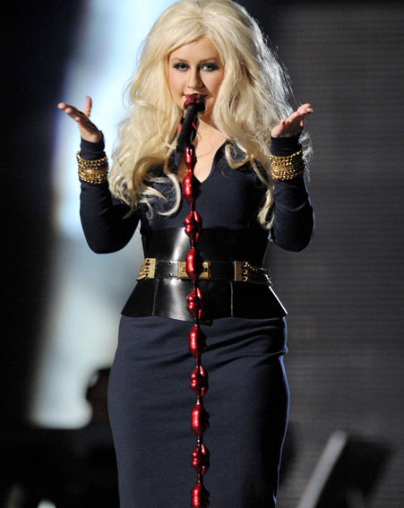 christina aguilera measurements