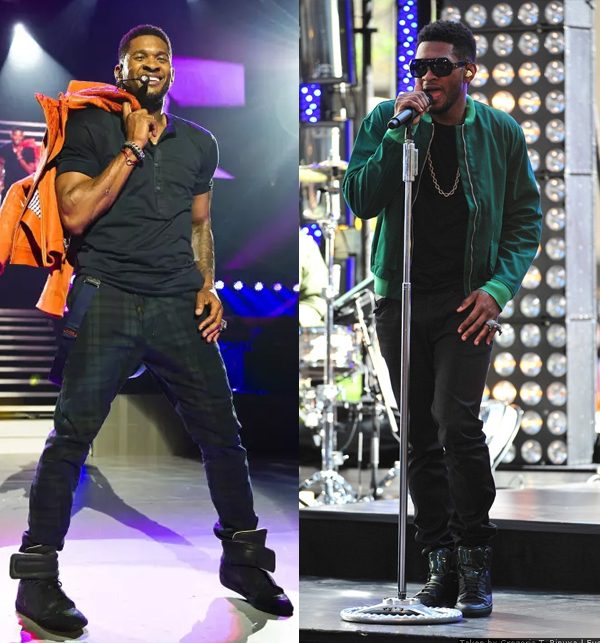 usher height and measurements
