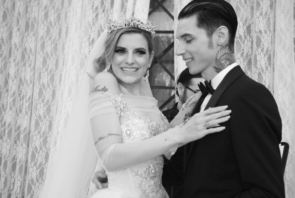 Andy Biersack Wedding