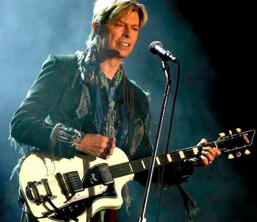 David Bowie Height