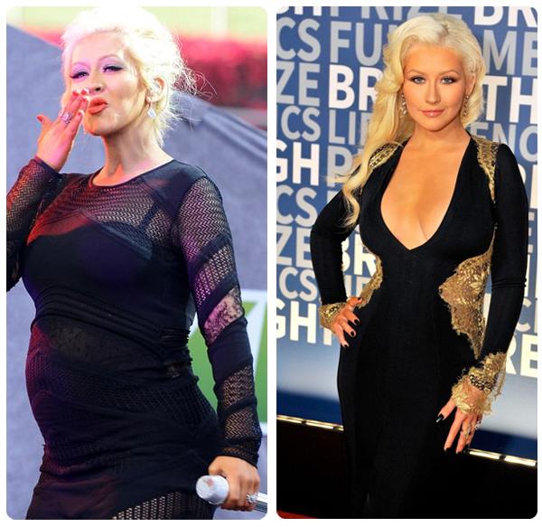 Get Christina Aguileras Post-Baby Body