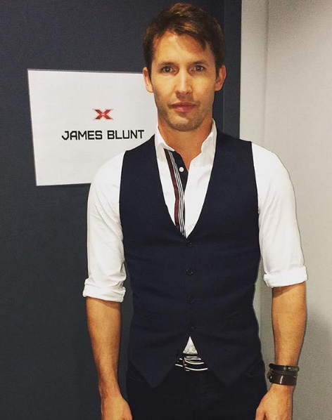 James Blunt height
