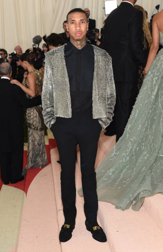 Tyga at the Met Gala