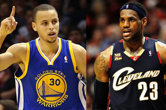 lebron james vs curry