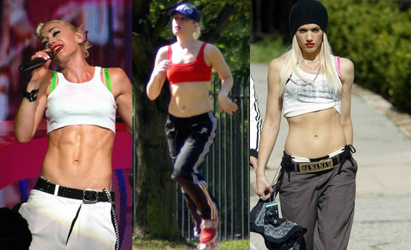 Gwen Stefani Workout Routine