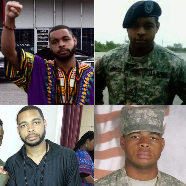 Micah X Johnson Dallas Gunman