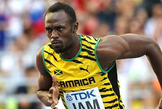 Usain Bolt in rio olympics