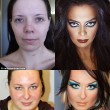 Makeup Transformation Before and After 3A