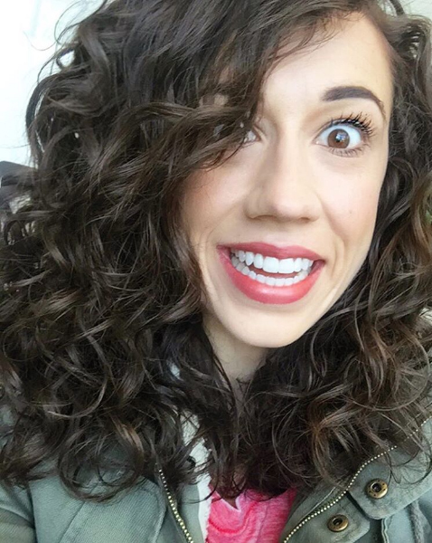 Colleen Ballinger funny face