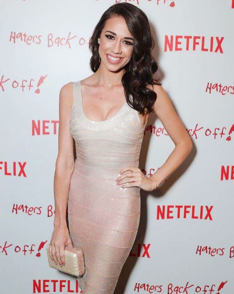 Colleen Ballinger fashion on the red carpet