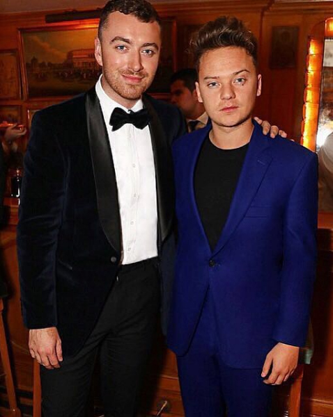 Conor Maynard and Sam Smith