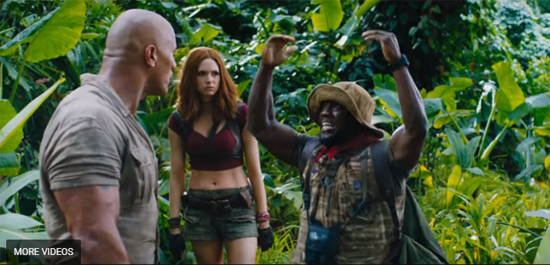 JUMANJI movie 2017 December